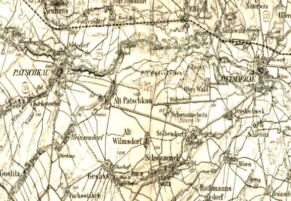 Karte von 1893