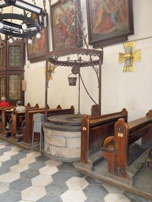 """""""Tartarenbrunnen"""" in der Kirche St. Johannis Evangelist, Foto: Rudolf Lux 2012"""