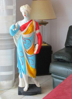 statue plâtre