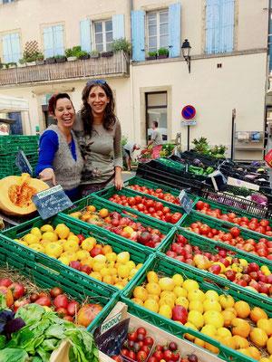 légumes bio centre de yoga sud france