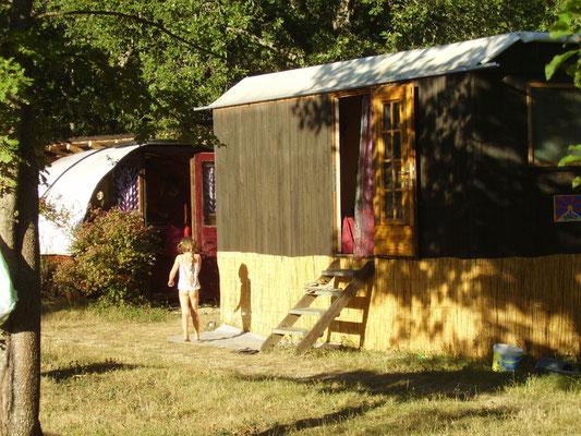Öco Unterkunft im Yoga und Meditation zentrum Südfrankreich