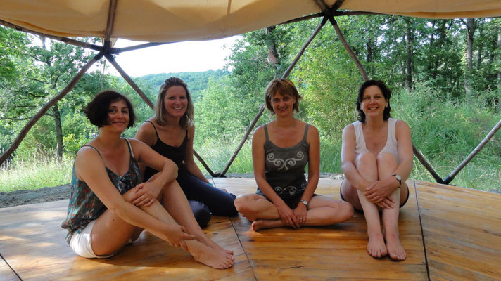 Yoga retreat centre South france