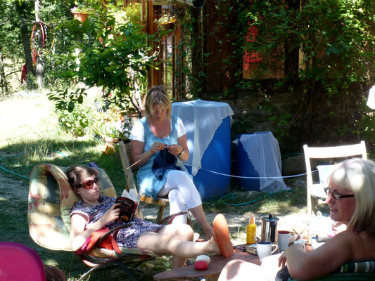 Family yoga holidays south France
