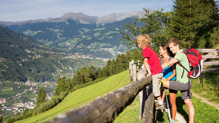 Wanderung Aschbach, Algund