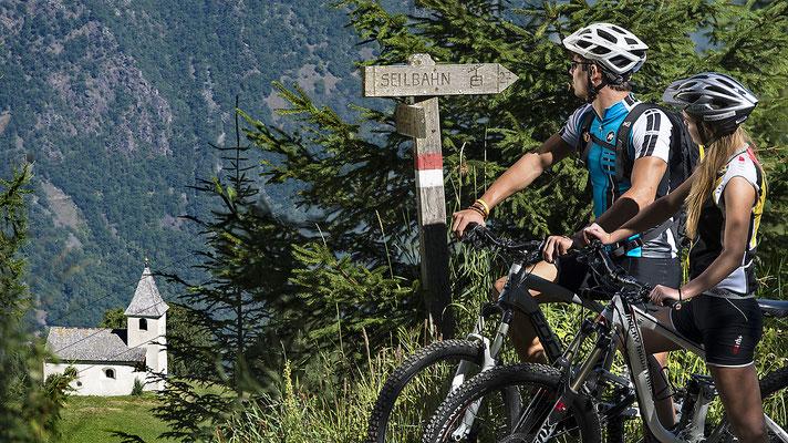 Mountainbike Aschbach, Algund