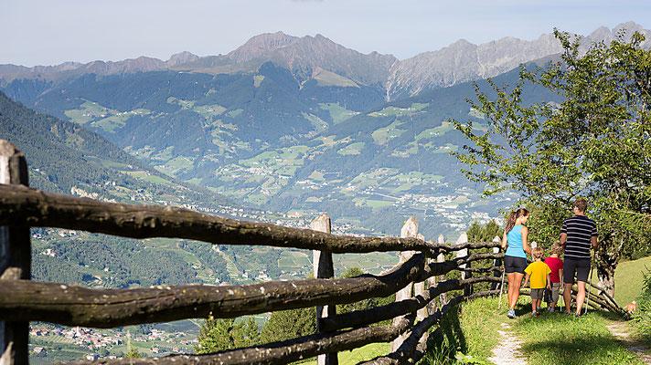 Wanderweg Aschbach, Algund