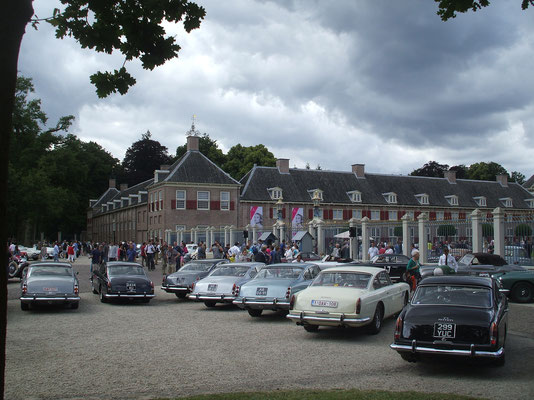 15 250 GTE's attended the 2014 Concours @ Paleis Het Loo.