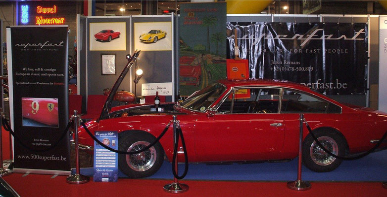 365 GT 2+2 @ Antwerp Classic Salon 2012.
