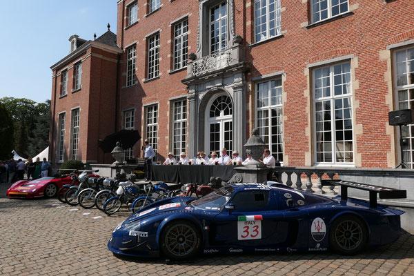 Maserati Extravaganza @ Antwerp Concours 2018.