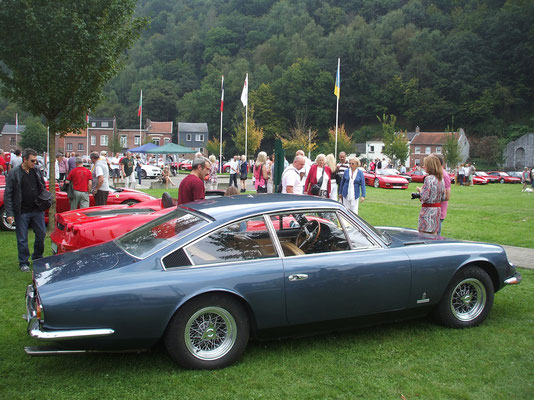 Italian Car Meeting, Chaudfontaine, 2014.