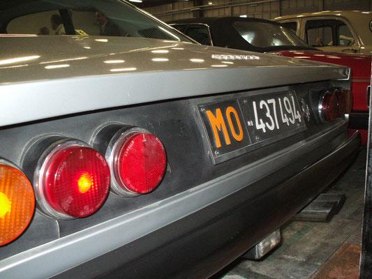 365 GT4 2+2 @ Auto e Moto d'Epoca, Padova, 2009.