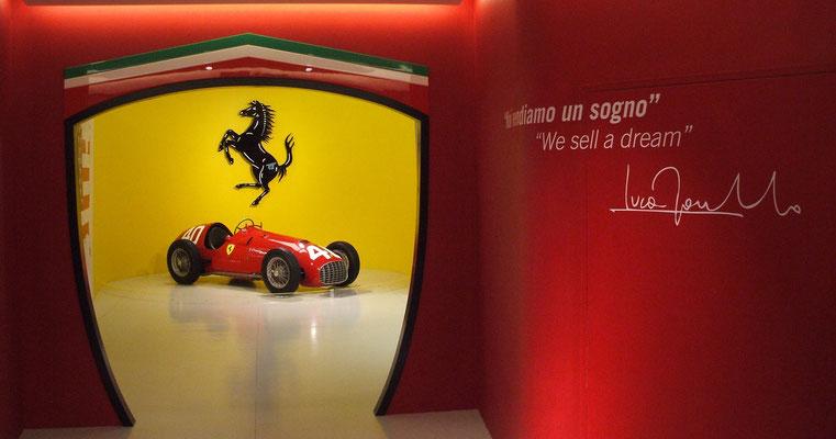 Museo Ferrari, Maranello, 2014.