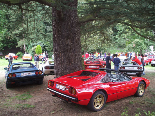 Italian Car Meeting, Chaudfontaine, 2013.