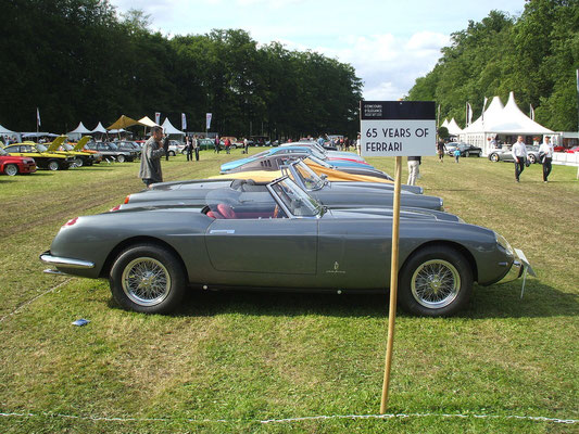 65 years of Ferrari. Paleis Het Loo, 2012.
