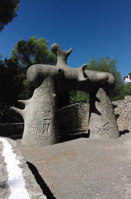 """l'Arc de triomphe (dans le """"labyrinthe"""")"""