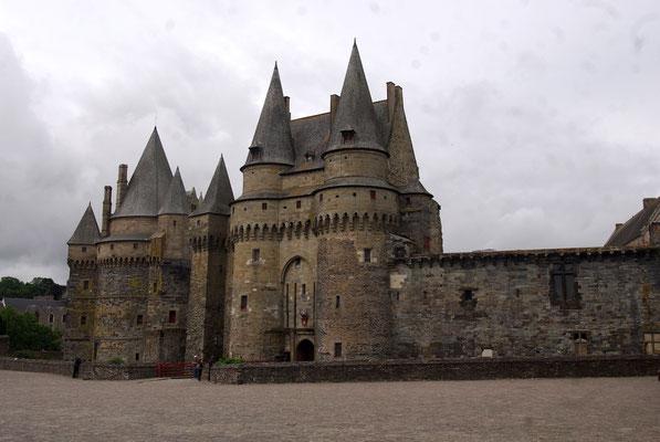 Le château de Vitré.