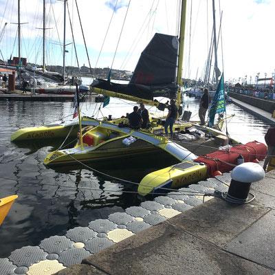 Réplique du bateau de Mike Birch.