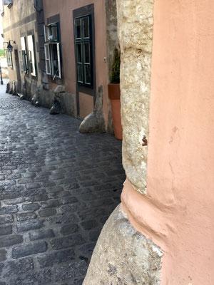 Une petite rue.