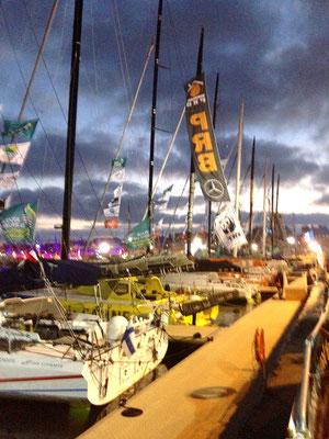 Ces bateaux font aussi le Vendée Globe.