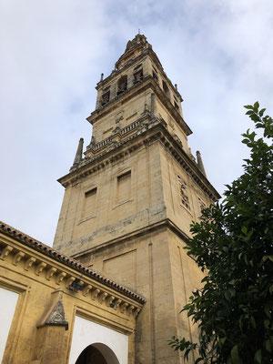 Le minaret en grande partie modifié