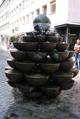 Une autre fontaine, d'un autre style.