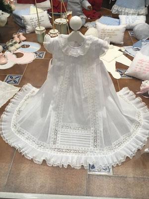 Splendide robe de baptême