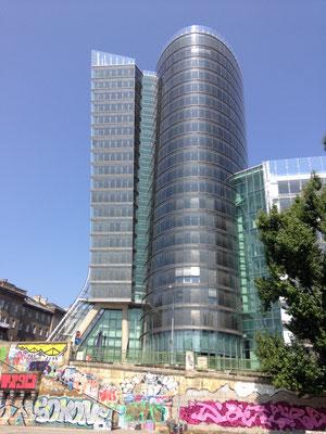 Immeuble de l'architecte Jean Nouvel.