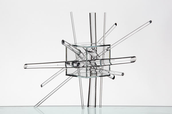 """Zeitmodell"", 2012, K. Stöckle"