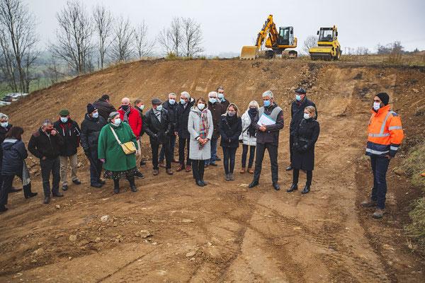 Lancement travaux 2x2 voies Yssingeaux / viaduc de Bessamorel -  01 décembre 2020