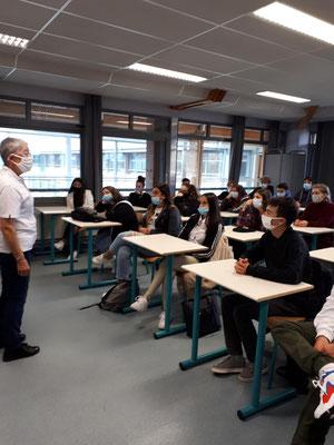 Lycée Léonard de Vinci - Yssingeaux - 5 octobre 2020