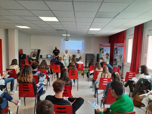 Collège du Mont Bar - Allègre - le 8 juin 2021