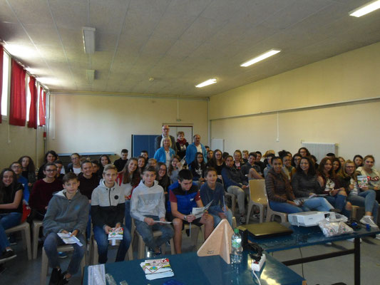 Collège Notre Dame - Craponne sur Arzon - 26 septembre 2018