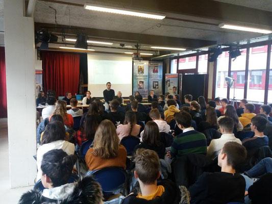 Lycée Charles et Adrien Dupuy - Le Puy en Velay - 17 décembre 2018