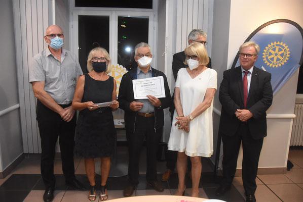 Remise des chèques des Rotary Club de Haute-Loire - Yssingeaux - 18 septembre 2020