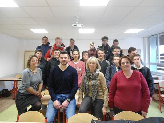 Lycée Georges Sand - Yssingeaux - 18 décembre 2018