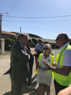 Opération de prévention avec  M le Préfet et les Gendarmeries Costaros - 2 juillet 201
