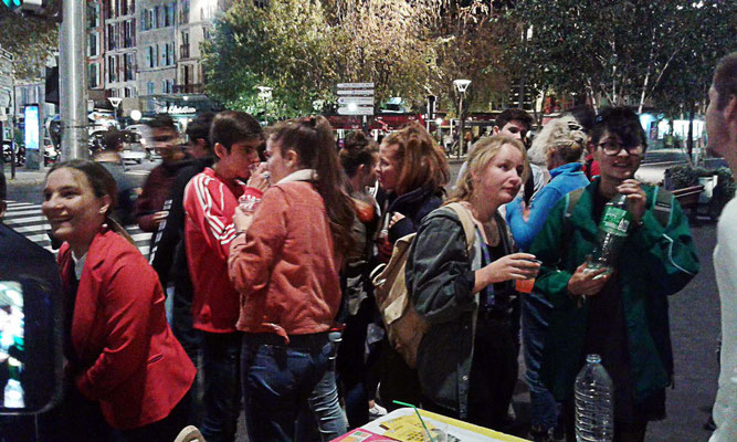 """Soirée """"repas de classe"""" et cocktail sans alcool avec la PJJ - Le Puy en Velay - 19 octobre 2018"""