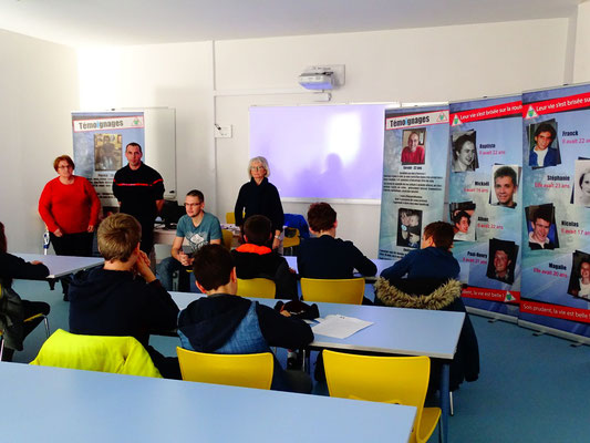 Collège St Régis / St Michel  Le Puy en Velay  Le  16 janvier 2020