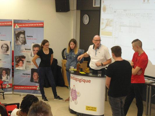 Bar Pédagogique - IFP Bains - 29 juin 2018