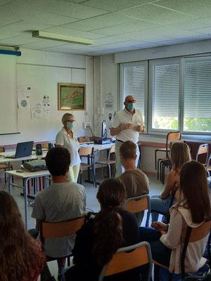 Collège des Hauts de l'Arzon - Craponne sur Arzon - le 14 juin 2021