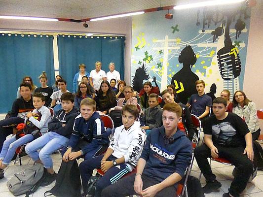 Tence -  Collège la Lionchère - 05 octobre 2018