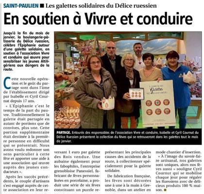 Article L'Eveil de la Haute-Loire - le 3 janvier 2020