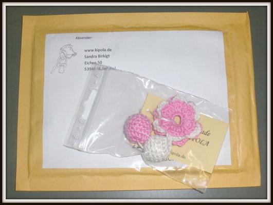 Set: Häkelperlen & Häkelblume