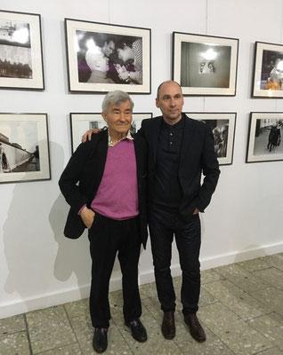 """Mit Vladimir Sychev bei der Ausstellung """"Тьма und Licht"""" im Russischen Haus der Wissenschaft und Kultur"""