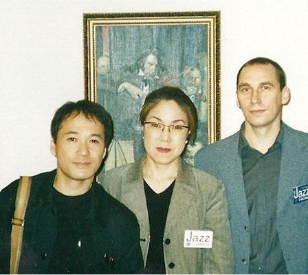 Mit Riodzi Hojito Klavierspieler (Japan)