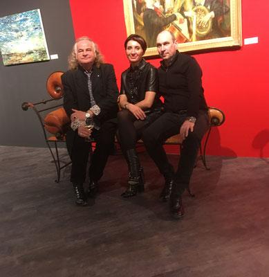 Mit den Künstlern Andreas Geißel und Oxana Baumgart