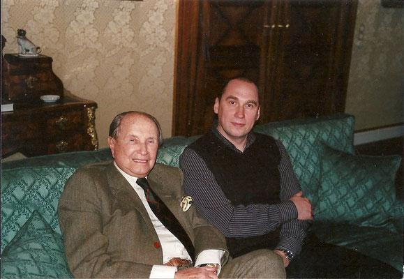 Mit Baron von Kempski