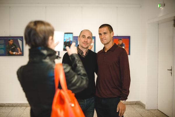 Mit Michail Juschny (russischer Tennisspieler) Fotograf Alena Wilhelm, Fotostudio SaveMoment