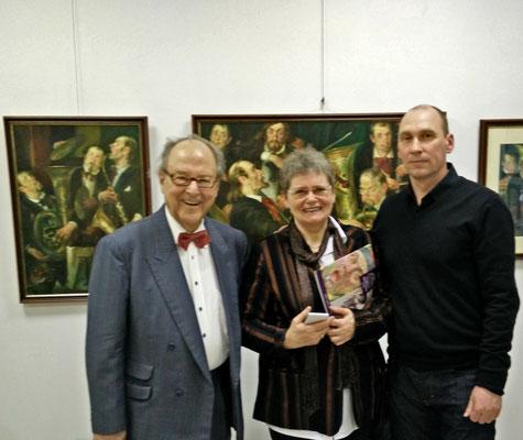 Mit Dirigent Prof. Roland Bader