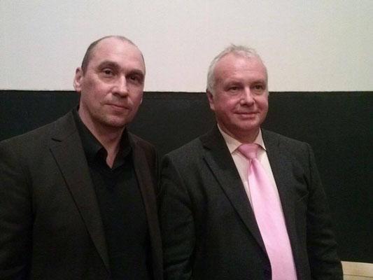 Mit Alexander Rahr (deutscher Osteuropa-Historiker, Lobbyist, Politologe und Publizist)